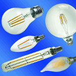 Image - LEDs: Filament-style bulbs mix vintage and efficiency