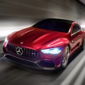 Image - Wheels: <br>Mercedes-AMG GT Concept brings super-sportscar performance to the family four-door