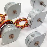 Image - Low-cost tin-can stepper motors feature high torque and compact size