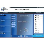 Image - �Hinge Selection Guide' online app