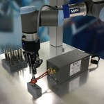 Image - Universal Robots avoid collisions, handle heat induction, and pick up in 3D at ATX East