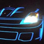 Image - Electroluminescent paint lights up the design world