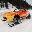 Image - Wheels Fun: Nissan makes one-off 370Z snowmobile