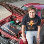 Image - Wheels: <br>After years of trying, teen electrifies 1980 Celica