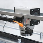 Image - Precision linear motion drive with thrust capacity to 800 lb