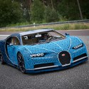 Image - 2,304 motors: LEGO engineers build life-size drivable Bugatti Chiron