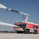 Image - Airport crash tenders use pneumatics to help ensure airport safety