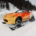 Image - Nissan makes one-off 370Z snowmobile