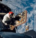 Image - 50 Years Ago: Apollo 9 launched -- Spider, Gumdrop, and Red Rover in space