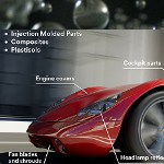 Image - 3M Glass Bubbles enable first-ever, ultra-lightweight sheet molded composites with Class A paintable surfaces for automotive manufacturers