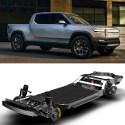 Image - Ford to develop EV based on Rivian's flexible skateboard platform