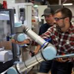 Image - Watch New e-Series Cobot Handle Precise Machining Task