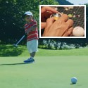 Image - Nissan motorized golf ball can't miss -- demonstrates autonomous car navigation tech
