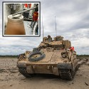 Image - Army develops cold spray technology to repair Bradley tank gun mounts
