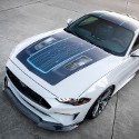 Image - 900-hp electric Ford Mustang coupe concept show car has manual gear shift