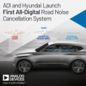 Image - First all-digital road noise cancellation system developed by Hyundai and Analog Devices