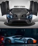 Image - Au naturel: Ford GT supercar gets unpainted carbon fiber, more power updates