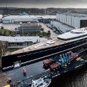 Image - Satellite design applied to largest aluminum sailing superyacht