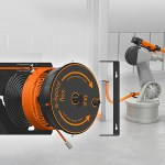 Image - New cable reel with worm guide increases safety in assembly areas