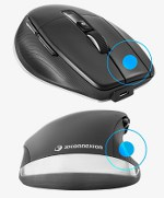 Image - Cool Tools: CadMouse Pro Wireless Left