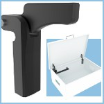 Image - Counterbalance support hinge for heavy panels and lids