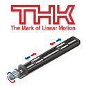 Image - LM guide actuator with right/left ball screw for symmetrical movement