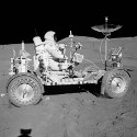 Image - 50 years ago: Apollo 15 first lunar rover drive and the Genesis Rock