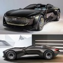 Image - Morphing Audi Skysphere concept: Variable wheelbase for cruising or sporty drive